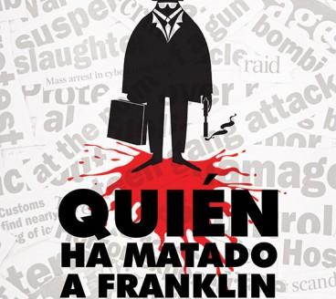 Diseño gráfico de Cartel Franklin Pamplona Navarra
