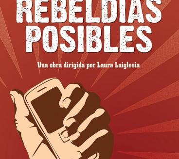 Diseño gráfico de Cartel Rebeldías Pamplona Navarra