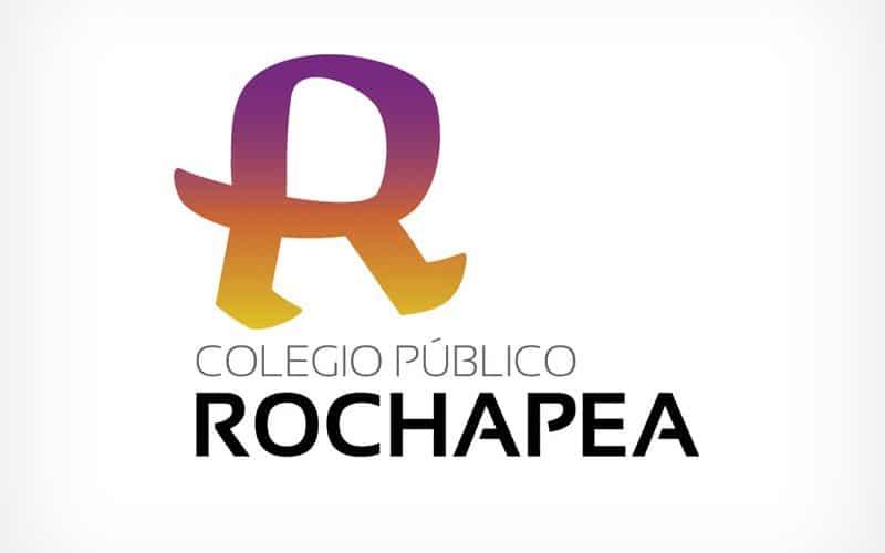 Diseño Gráfico De Logotipo Rochapea Pamplona Navarra