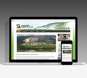 Diseño Página Web Sierra Alaiz Pamplona Navarra