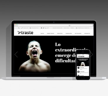 Diseño Página Web Traste Pamplona Navarra