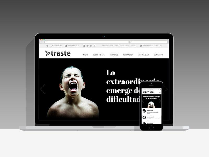 Traste página web, Pamplona, Navarra