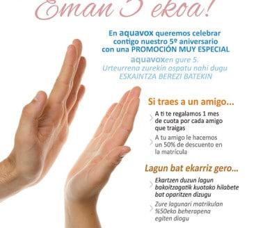 Diseño Gráfico Publicidad Aquavox Pamplona Navarra