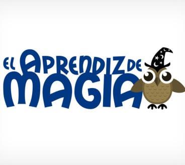 Diseño gráfico de Logotipo El Aprendiz de Magia Cuenca