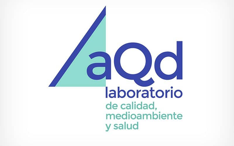 Diseño Gráfico De Logotipo AQD Laboratorio Pamplona Navarra