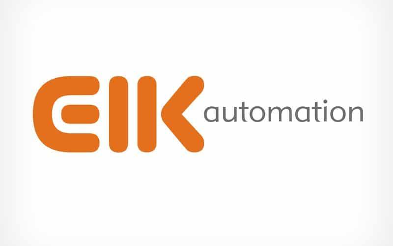 Diseño Gráfico De Logotipo EIK Automation Pamplona Navarra