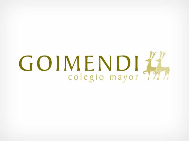 Diseño Gráfico De Logotipo Colegio Goimendi Pamplona Navarra