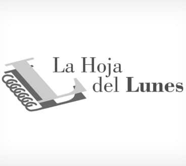 Diseño gráfico de Logotipo La Hoja del Lunes Pamplona Navarra
