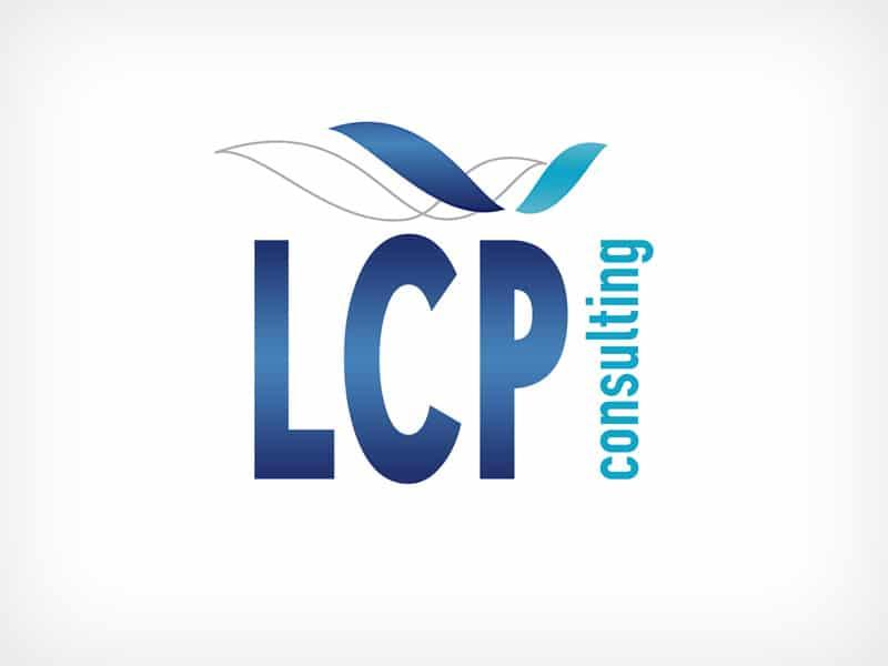 Diseño Gráfico De Logotipo LCP Consulting Madrid
