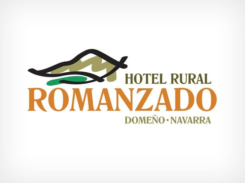 Diseño Gráfico De Logotipo Restaurante Romanzado Navarra