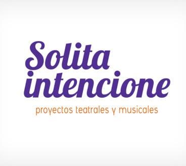 Diseño gráfico de Logotipo Solita Intencione Pamplona Navarra