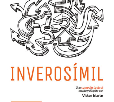 Diseño gráfico de Cartel Inverosímil Pamplona Navarra