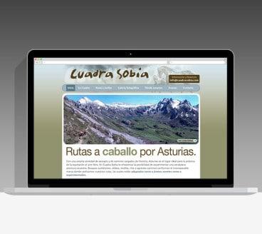 Diseño Página Web Cuadra Sobia Pamplona Navarra