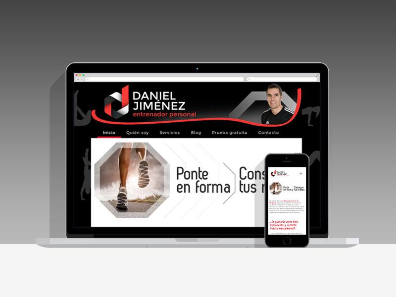 Diseño Página Web Daniel Jimenez Pamplona Navarra