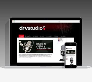 Diseño Página Web DRV Pamplona Navarra