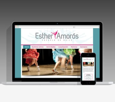 Diseño Página Web Esther Amorós Pamplona Navarra