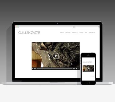 Diseño Página Web Guillén Zazpe Pamplona Navarra