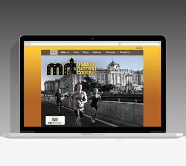Diseño Página Web MRT Pamplona Navarra