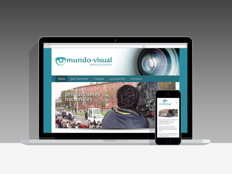 Diseño Página Web Mundo-Visual Pamplona Navarra