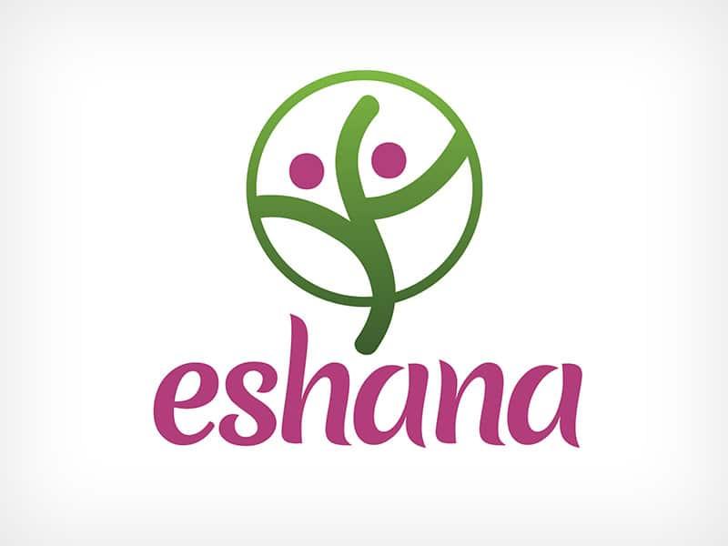 Diseño Gráfico De Logotipo Eshana Pamplona Navarra