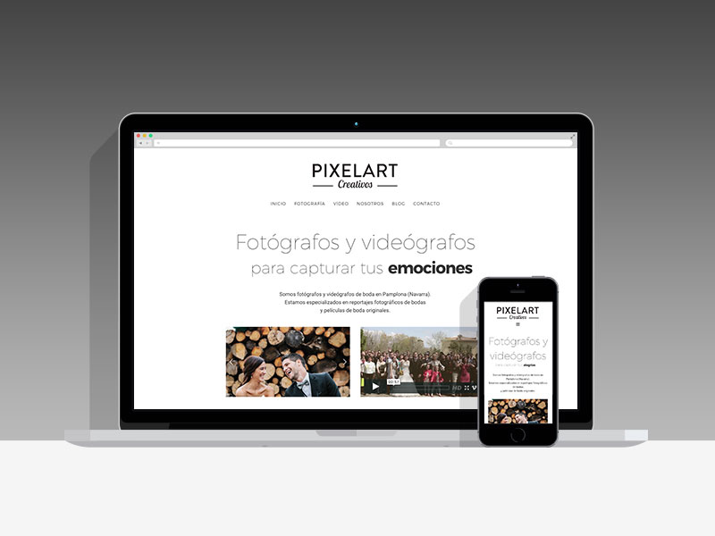 Diseño Página Web Pixelart Pamplona Navarra