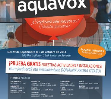 Diseño Gráfico Publicidad Aquavox5 Pamplona Navarra