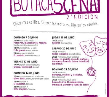 Diseño Gráfico Publicidad ButacaScena Pamplona Navarra