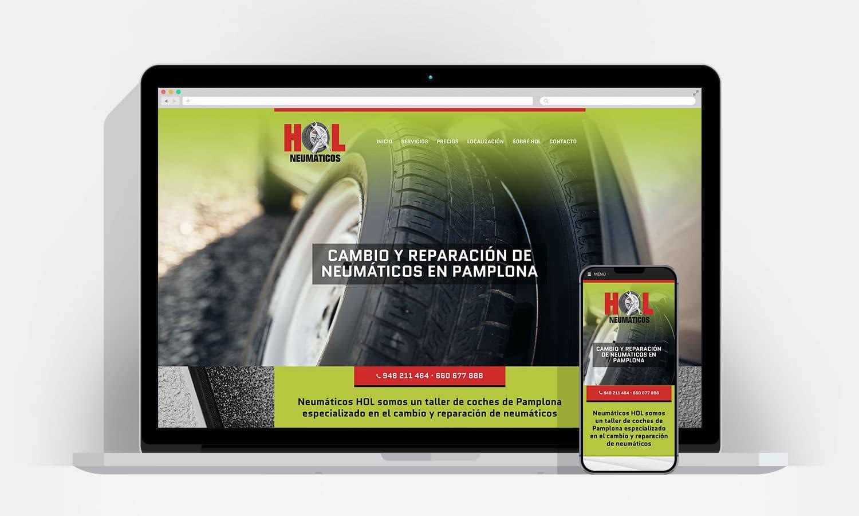 Diseño Web Pamplona - Hol