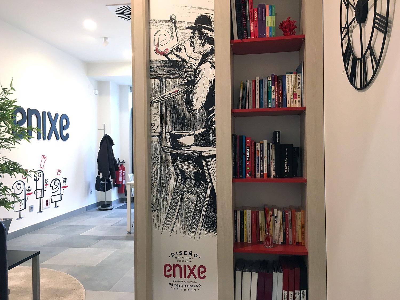 Enixe estudio diseño grafico Pamplona y diseño web Pamplona