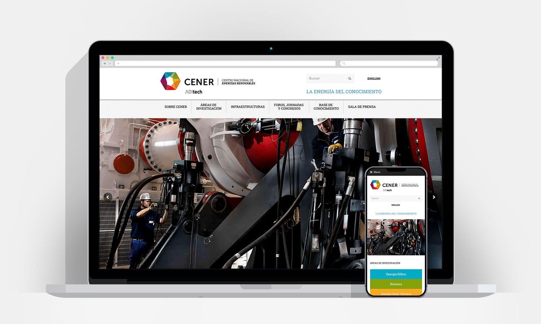 Diseño Web Pamplona - Cener