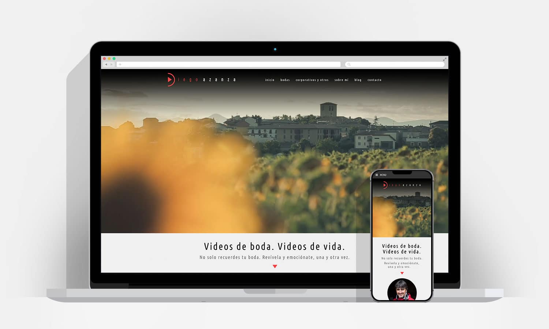 Diseño Web Pamplona - Diego Azanza