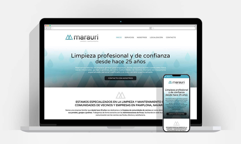 Marauri dise o p gina web wordpress pamplona navarra - Empresas limpieza pamplona ...