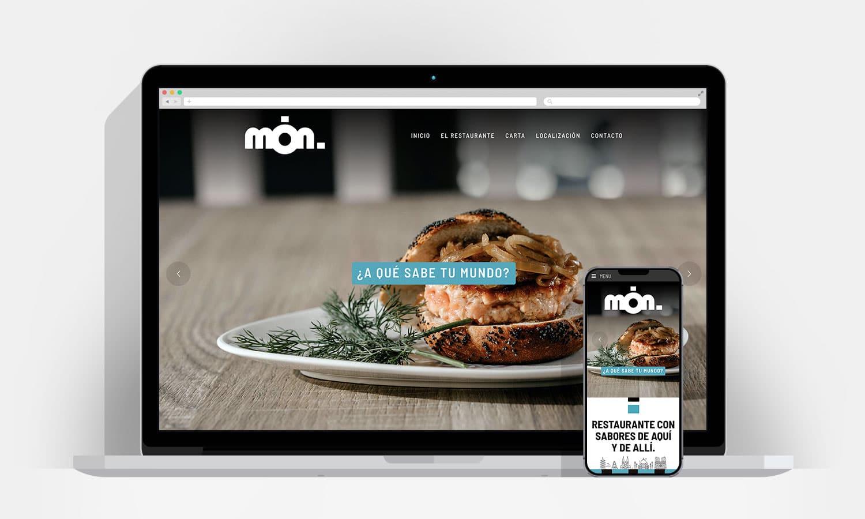 Diseño Web Pamplona - Mon Restaurante