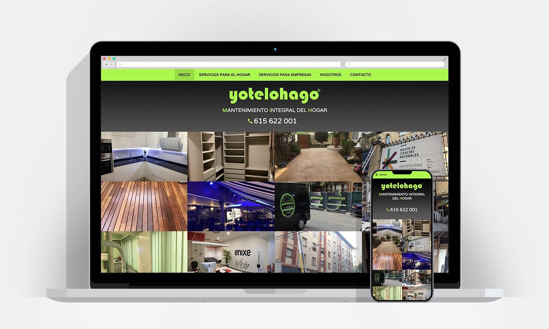 Diseño web Pamplona - Yotelohago