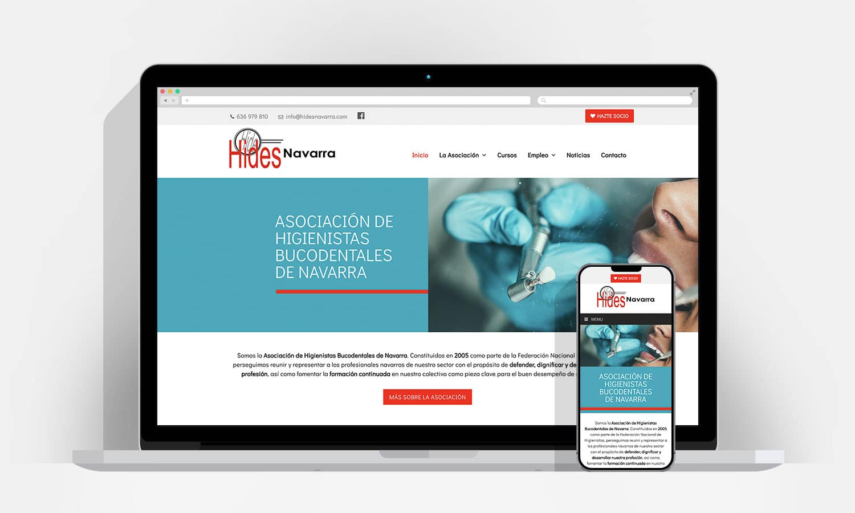 Diseño Web Pamplona - Hides Navarra