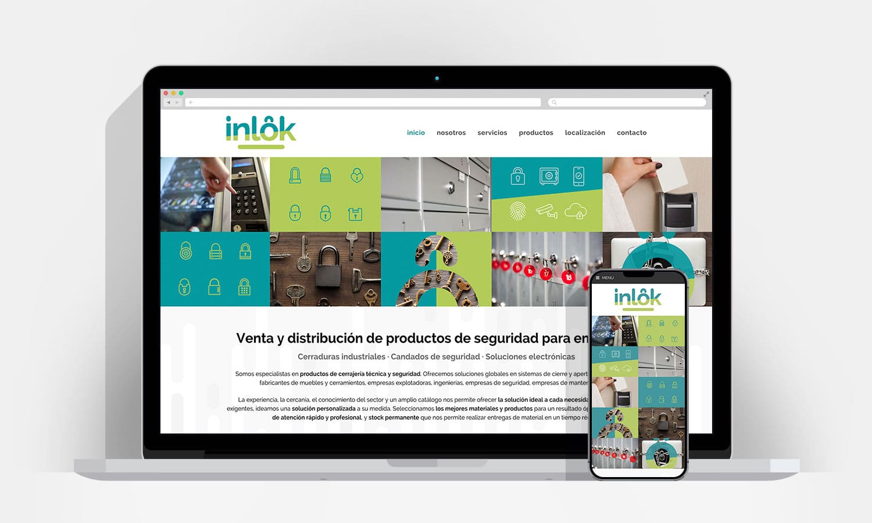 Diseño Web Pamplona - Inlok